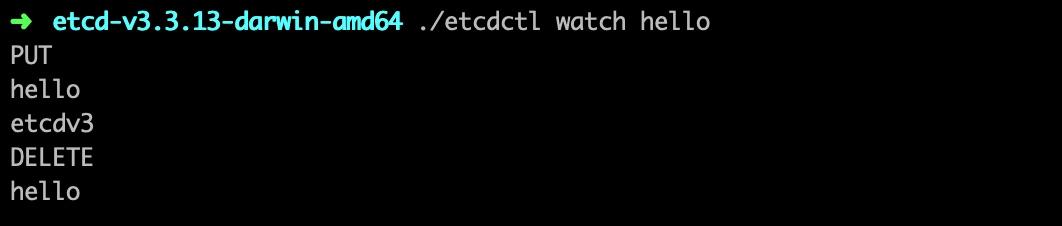 监听 Etcd 键值变化