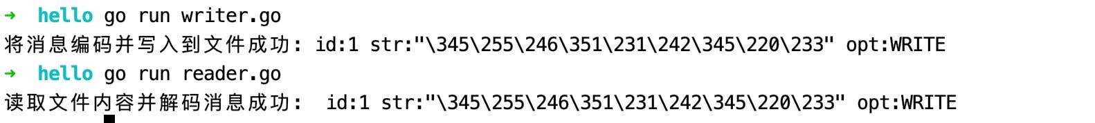 基于 Protobuf 进行编解码的演示代码示例