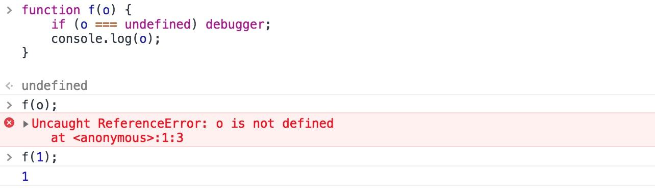 通过 debugger 语句设置断点调试程序