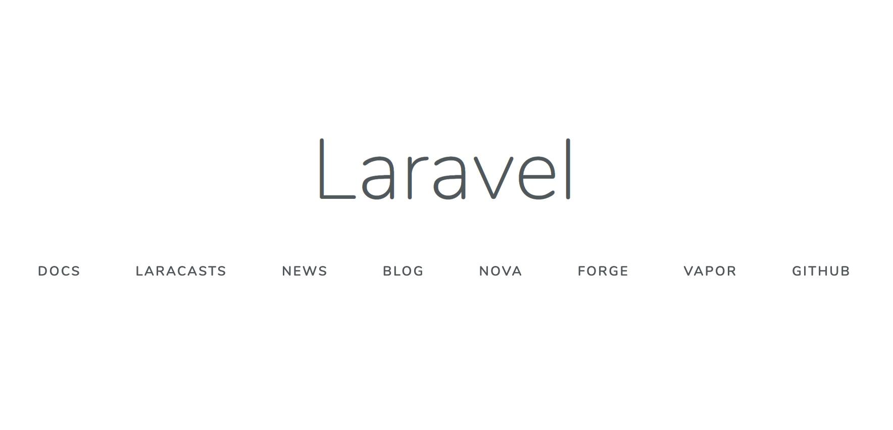 Laravel 7 欢迎页面