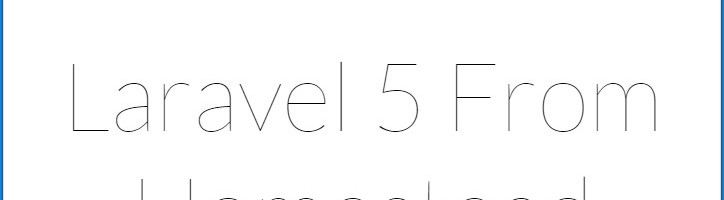 Laravel自带示例首页