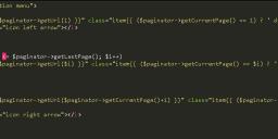 Laravel中自定义分页Blade模板