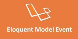 Eloquent-Model-Event