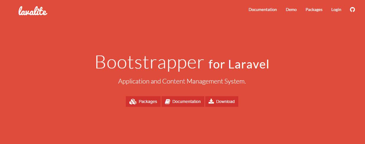 使用Laravel构建网站——LavaLite