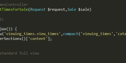 Laravel中渲染不包含布局的视图