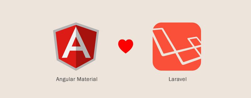 Laravel 5.1 Angular Material Starter