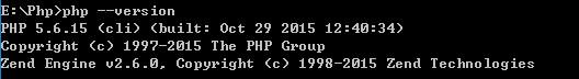 Php版本信息