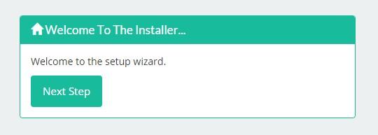 Laravel Web Installer 安装应用界面