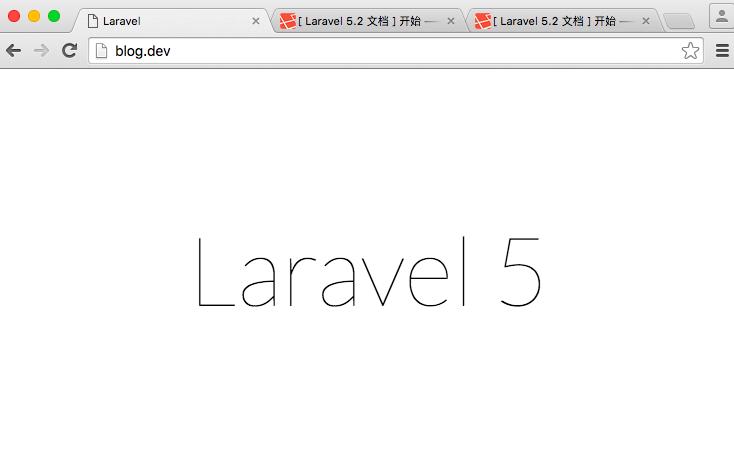 使用Valet搭建Laravel开发环境