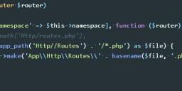 Laravel 分割 routes.php 路由文件的最佳方式