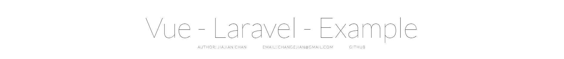 vue-laravel-example