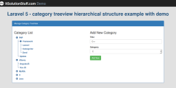 laravel-category-tree-view