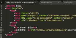 markdown-build