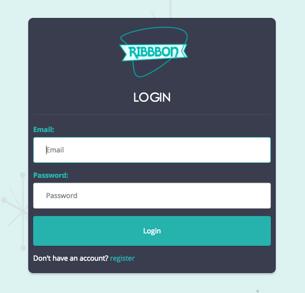 ribbbon-login