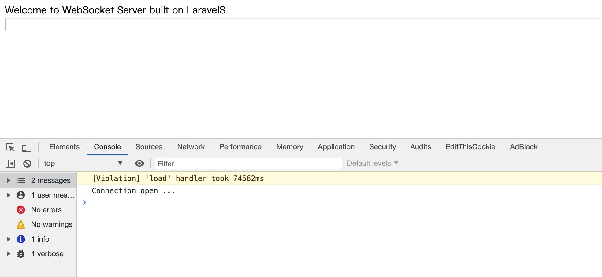 WebSocket 通信建立